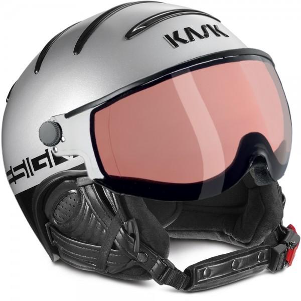 Kask Skihelm Class Sport 18 Photchrom Silber