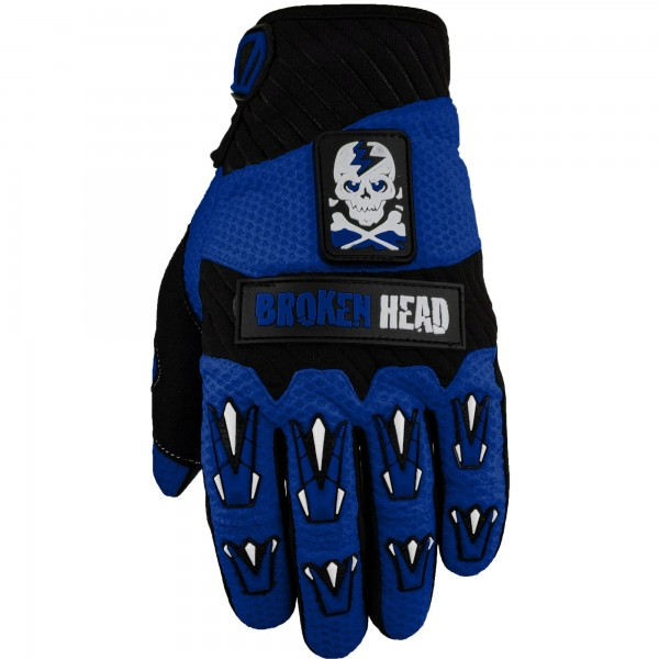 Broken Head MX-Handschuhe Faustschlag Dark Blue