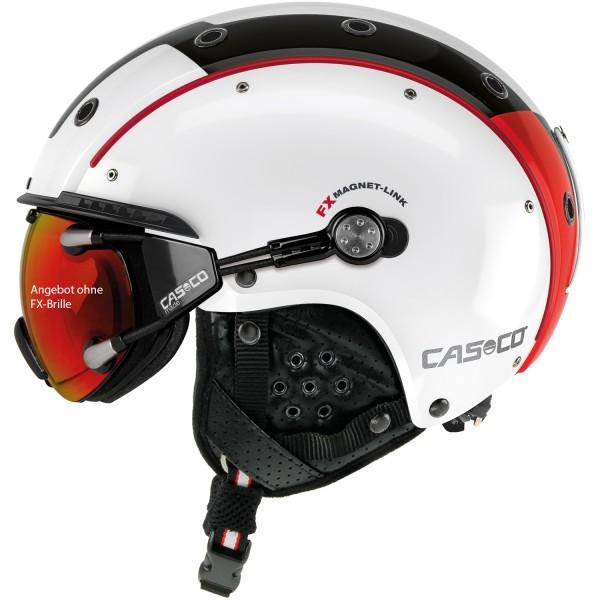 Casco Skihelm Sp-3.2 Competition weiß-rot-schwarz