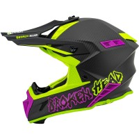 Broken Head Crosshelm THE HUNTER Carbon ultralight green-pink
