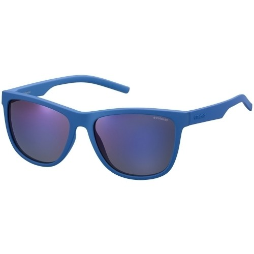 Polaroid Sonnenbrille Seasonal PLD 6014/S ZDI Blau Matt