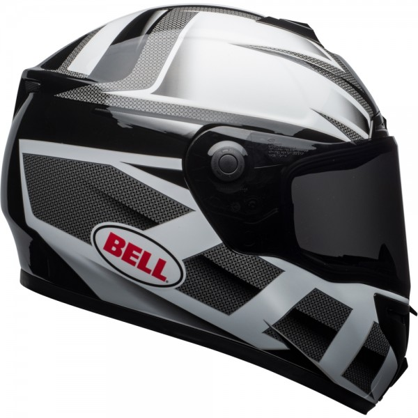 Bell SRT Predator Weiß-Schwarz