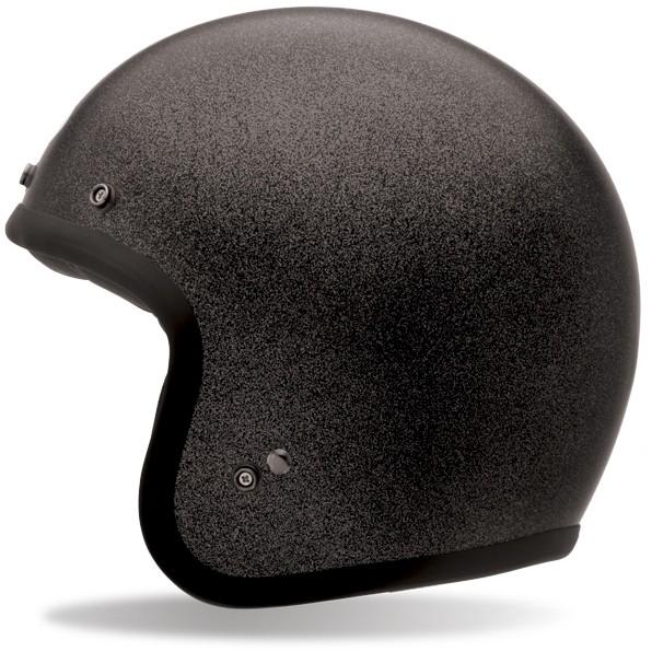 Bell Custom 500 Solid Black Flake