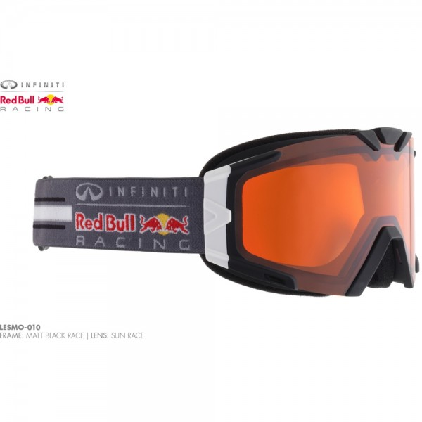Infiniti Red Bull Racing Skibrille Lesmo 010 Schwarz Grau