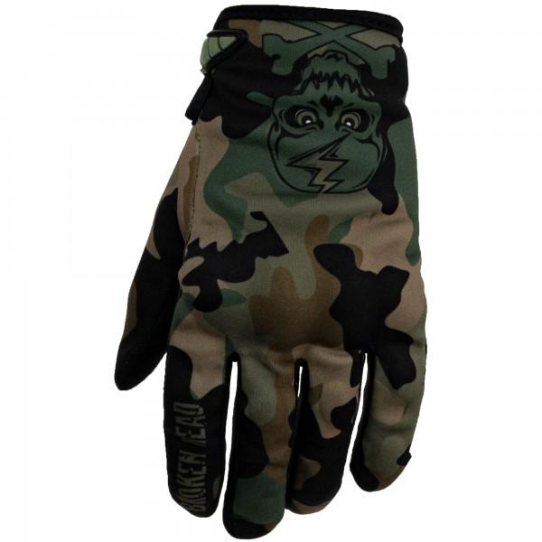 Broken Head MX Handschuhe Rebelution Camouflage grün