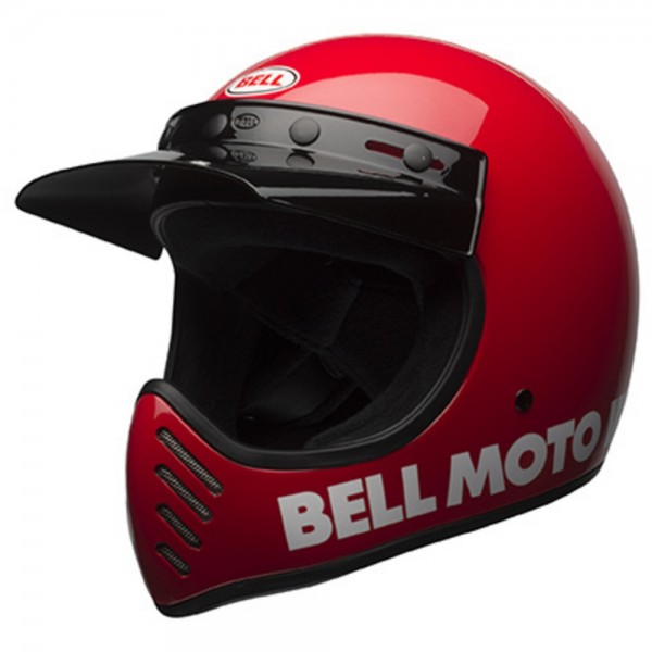 Bell Moto-3 Classic Rot