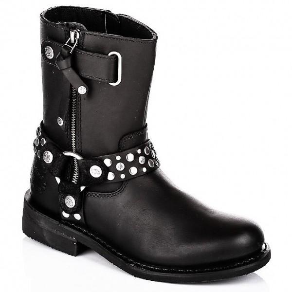 harley davidson stiefel damen boots vada schwarz helme m dl. Black Bedroom Furniture Sets. Home Design Ideas