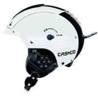 Casco Skihelm SP-5 II Weiß-Schwarz