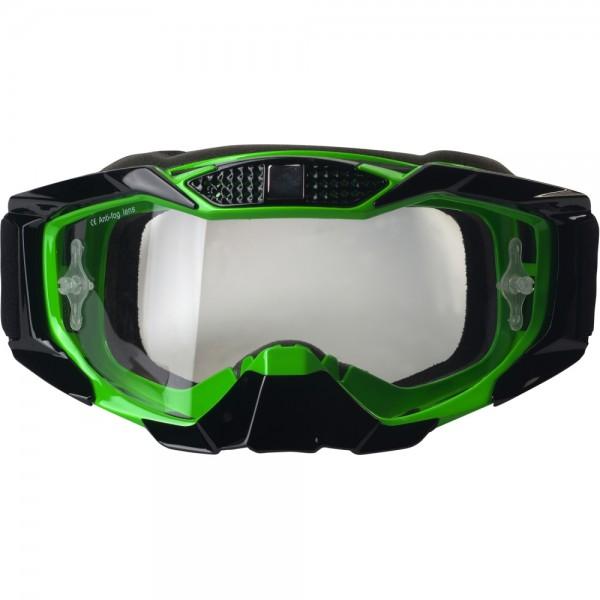 Broken Head MX-1 MX-Brille - Goggle schwarz-grün