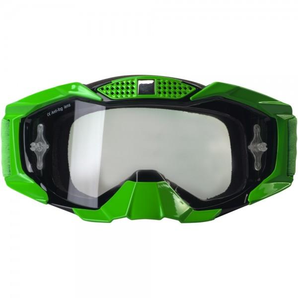 Broken Head MX-1 MX-Brille - Goggle grün-schwarz