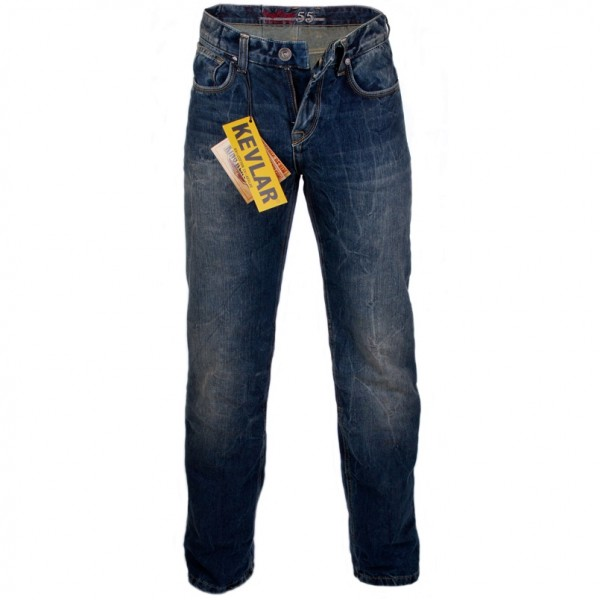 King Kerosin Denim Kevlar verstärkte Jeans Speedking II