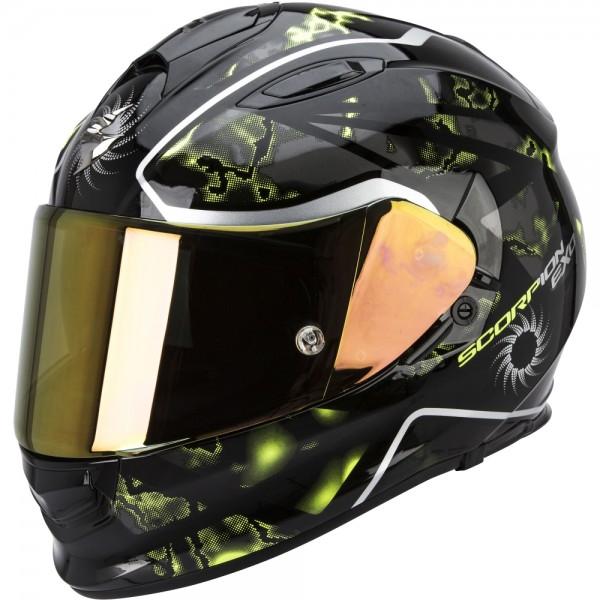Scorpion EXO 510 Xena Schwarz Neon Gelb