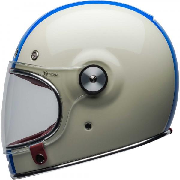 Bell Bullitt Command Vintage White-Red-Blue