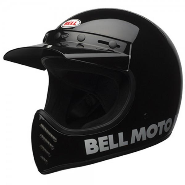 Bell Moto-3 Classic Schwarz