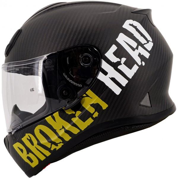 Broken Head BeProud Carbon Gelb Limited Edition