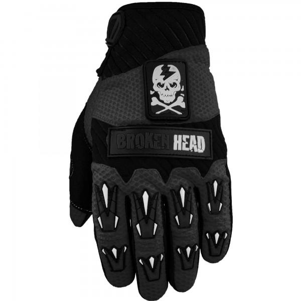 Broken Head MX-Handschuhe Faustschlag Schwarz