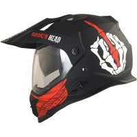 Broken Head Endurohelm Street Rebel rot