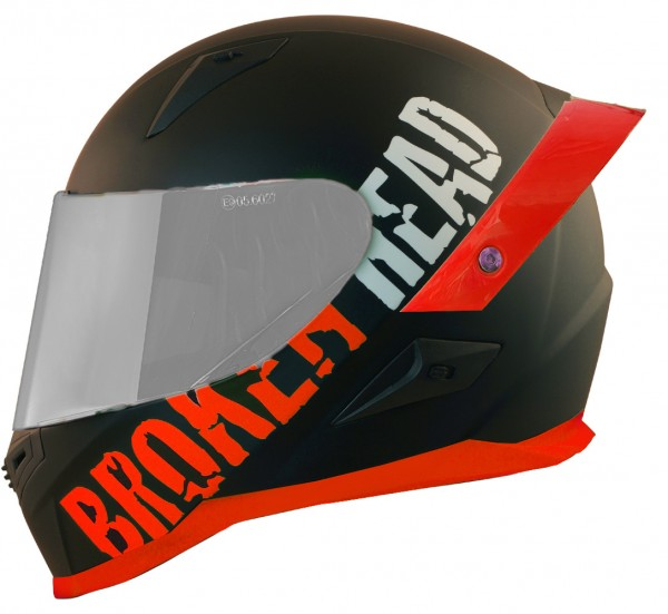 Broken Head BeProud Pro Rot | Limited Color Edition | inkl. schwarzem Visier