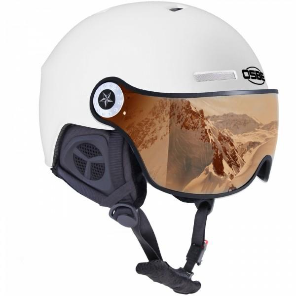 OSBE Ski-Helm New Light-R weiß  photochrom