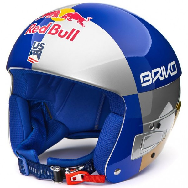 Briko Skihelm Vulcano FIS 6.8 Red Bull and Lindsey Vonn Foundation