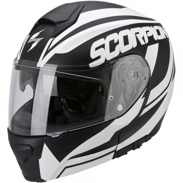 Scorpion EXO 3000 Air Serenity Schwarz Weiß