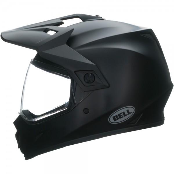 Bell MX-9 Adventure Solid MIPS Schwarz Matt