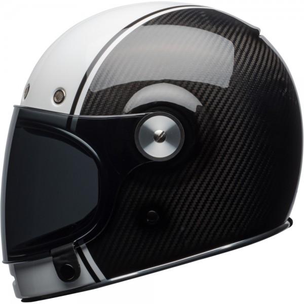 Bell Bullitt Carbon Pierce Black-White