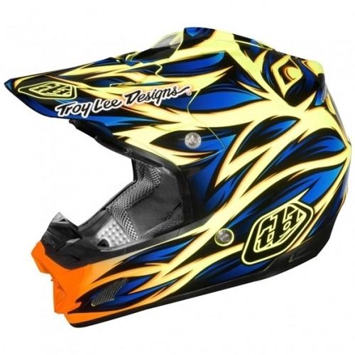 Troy Lee Designs SE3 Beast blau gelb