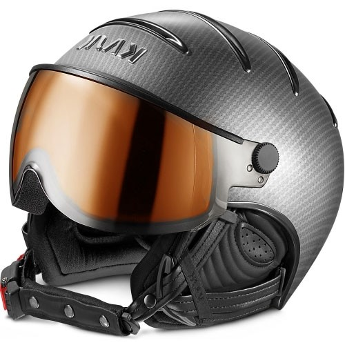 Kask Skihelm Elite Pro II Light Carbon Black photochromatic