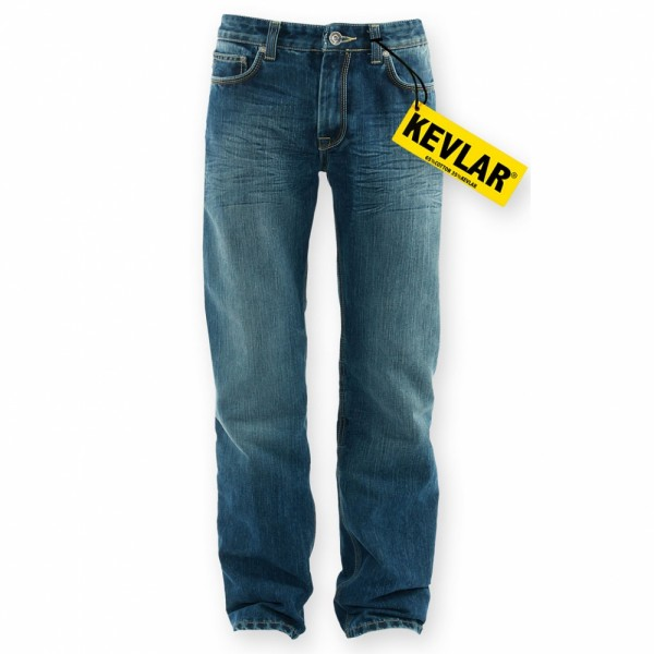 King Kerosin Denim Kevlar verstärkte Jeans Speedfreak