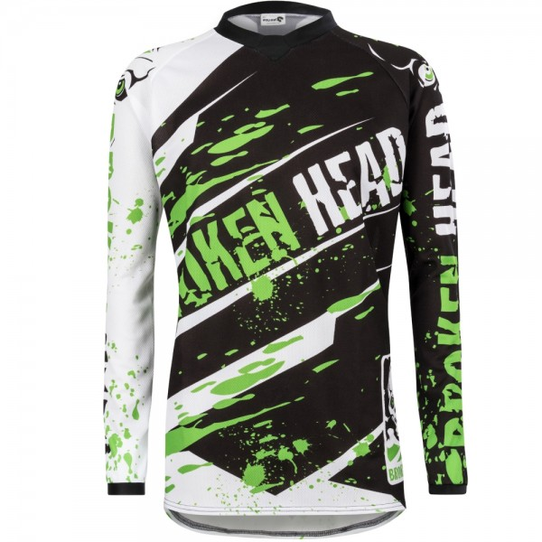 Broken Head MX Jersey Green Thunder Profi-Line