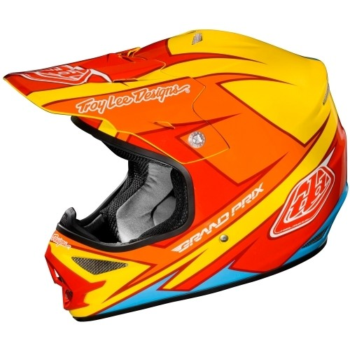 Troy Lee Designs AIR Stinger gelb