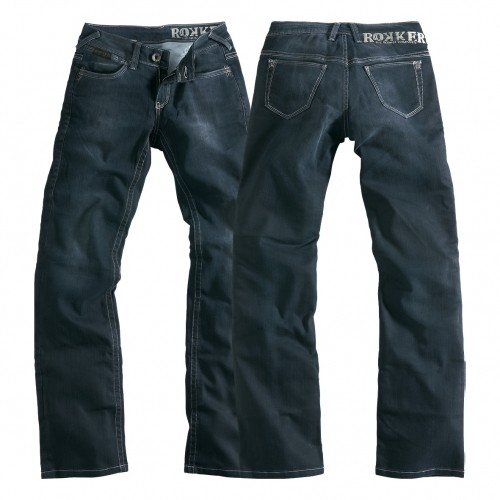 Rokker Damen Jeans The Black Lady (26/34, 28/34, 30/34)