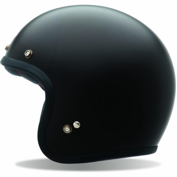 Bell Custom 500 Solid Black Matt