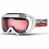 Slokker Skibrille SLK RX Photochrom Weiß