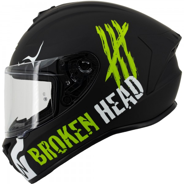 Broken Head Adrenalin Therapy 4X Black-White Matt