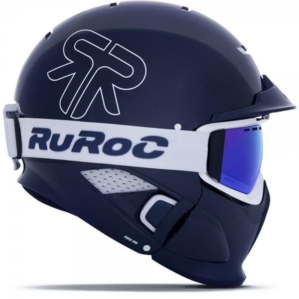 Ruroc RG1-DX Limited Edition TBC Blau Weiß