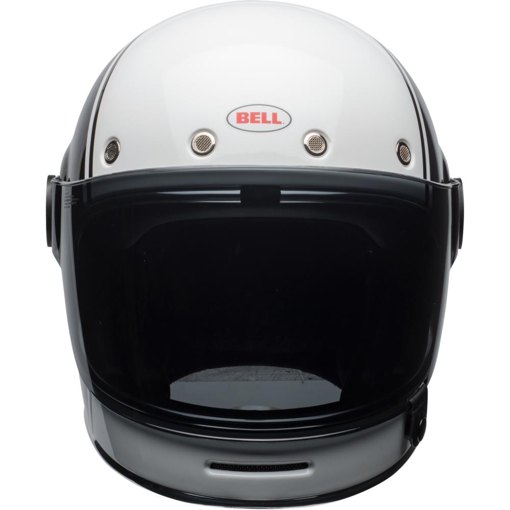 bell bullitt carbon pierce black white. Black Bedroom Furniture Sets. Home Design Ideas