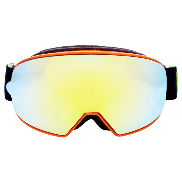 Broken Head Crossbrille Made2Rebel Orange mit verspiegeltem Glas