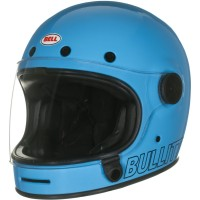 Bell Bullitt Retro Solid Blue