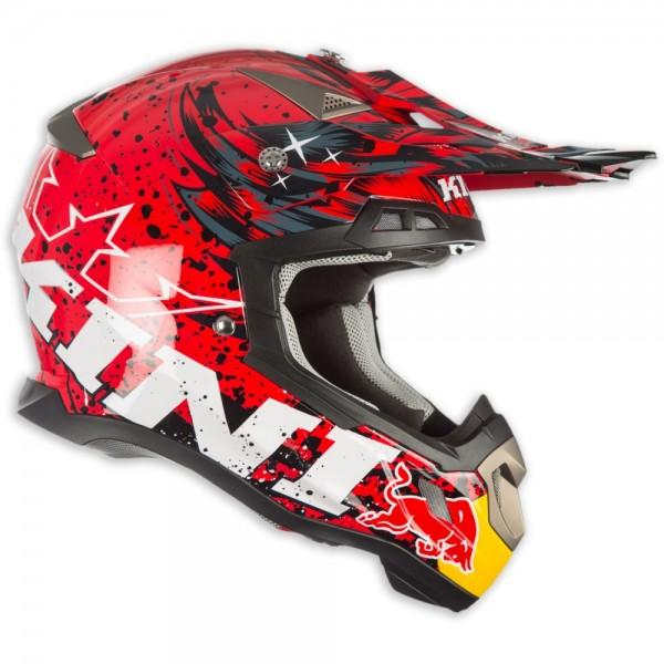 Kini Red Bull Helm Revolution Rot Schwarz (L)