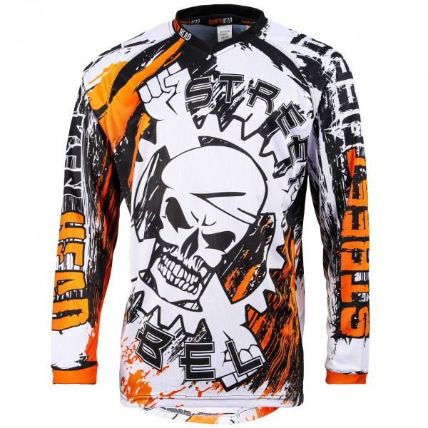 Broken Head MX Jersey Street Rebel orange