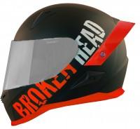 Broken Head BeProud Pro Rot   Limited Color Edition   inkl. schwarzem Visier