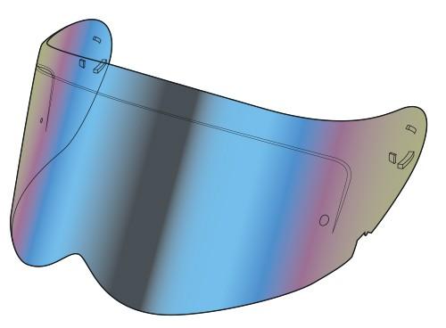 Simpson Venom VX2 ECE Visier iridium-verspiegelt