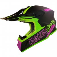 Broken Head Crosshelm THE HUNTER light green-pink