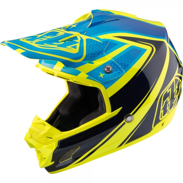 Troy Lee Designs SE3 Light Neptune Yellow