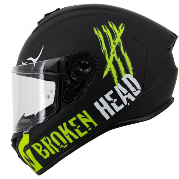 Broken Head Adrenalin Therapy 4X Black-Green Matt