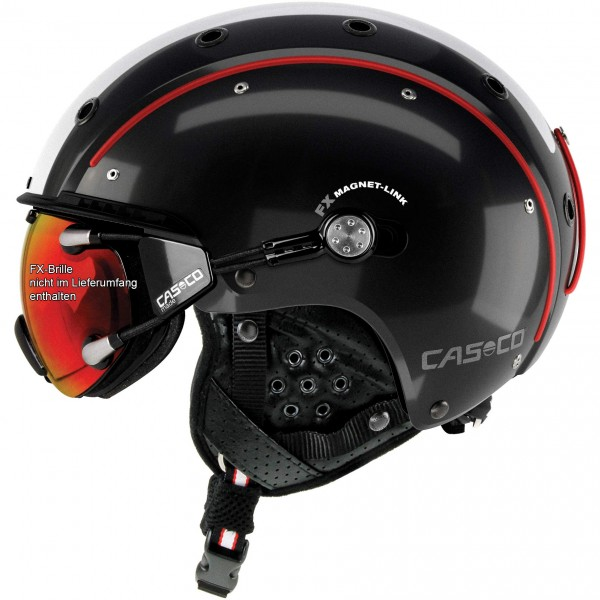 Casco Skihelm SP-3 Competition schwarz-rot