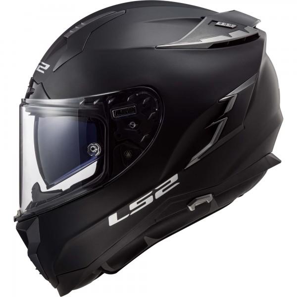 Racinghelm LS2 FF327 Challenger schwarz matt