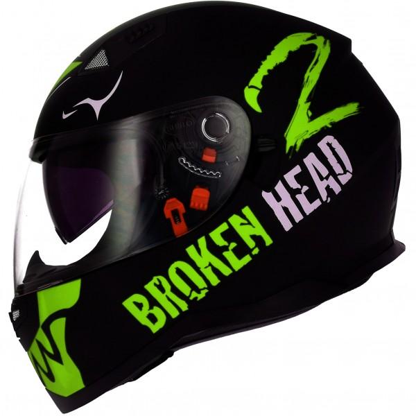 Broken Head Adrenalin Therapy VX2 schwarz-grün